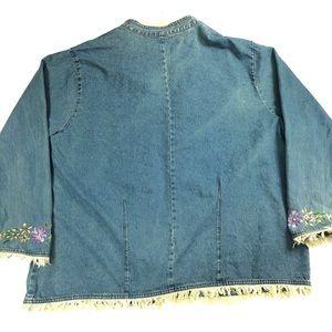 Venezia Jackets & Coats - Venezia Vitale China Girl Denim Jacket